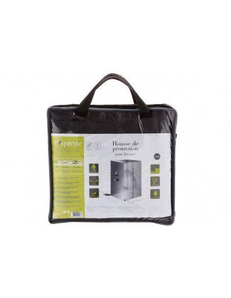 Housse pour loveuse - D 125 cm  x H 205 cm - Polyester - Gris