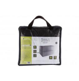 Housse de banc - L 160 cm x P 90 cm  x H 100 cm 100 cm - Polyester - Gris