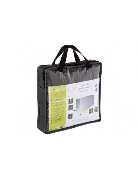Housse de canapé taille M - L 200 cm x P 115 cm x H 100 cm - Polyester - Gris