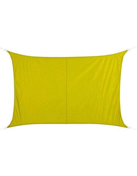 """Toile solaire """"Curacao"""" - 200 x 300 cm - Polyester - Vert"""