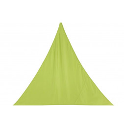 "Toile solaire triangle ""Curacao"" - 200 x 200 x 200 cm - Polyester - Vert"