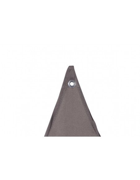 "Toile solaire triangle ""Anori"" - 400 x 400 x 400 cm - Polyester - Taupe"