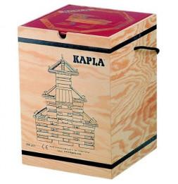 Kapla - Malette de 280 planchettes en pin des landes - Jeu de construction pour enfants