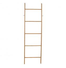 Echelle porte serviettes - 5 niveaux - Bambou