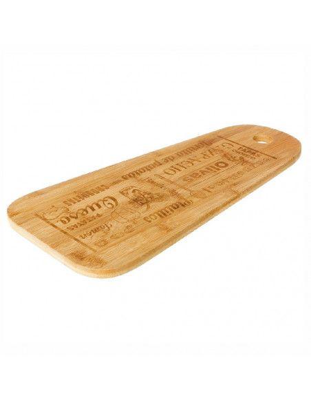 Planche à découper tapas - 35  x 25 cm - Bambou