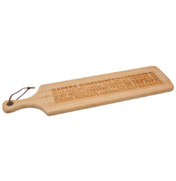 Planche à découper - L 59,50 cm  x  l 15 cm - Bambou