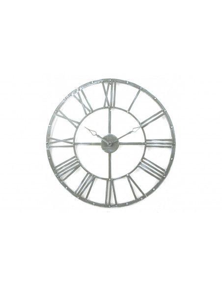 Pendule vintage - D 70 cm - Métal