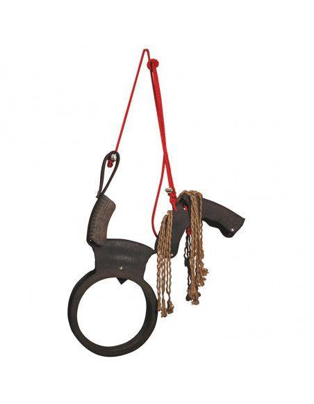 Balançoire cheval - 84,5 x 16 x 104 cm - Nylon et rubber