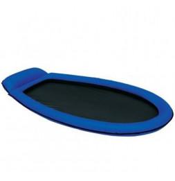 Lit gonflable pour 1 personne - 179 x 94 cm - Bleu