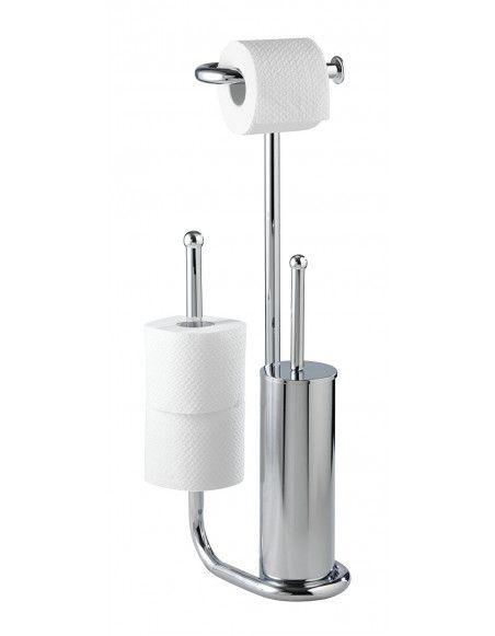 Combiné WC Universalo - Chromé - Accessoire de salle de bain