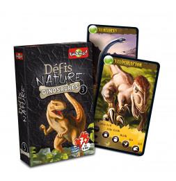 Défis nature - Les dinosaures 3 - Noir