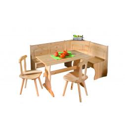 Coin repas avec tables et 2 chaises - Tirol