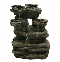Fontaine Nature Pietra - H 35 cm - LED