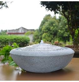 Fontaine zen Terrazza - D 40 cm - Décoration d'intérieur