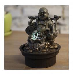 Fontaine Bouddha Voyageur - H 20 cm - LED