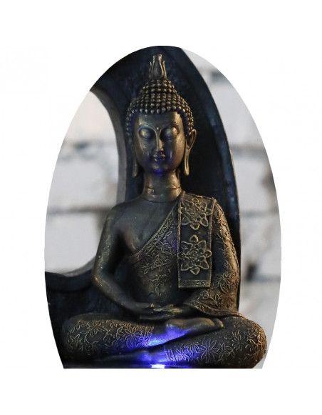 Statuette - Bouddha Thai - H 21 cm