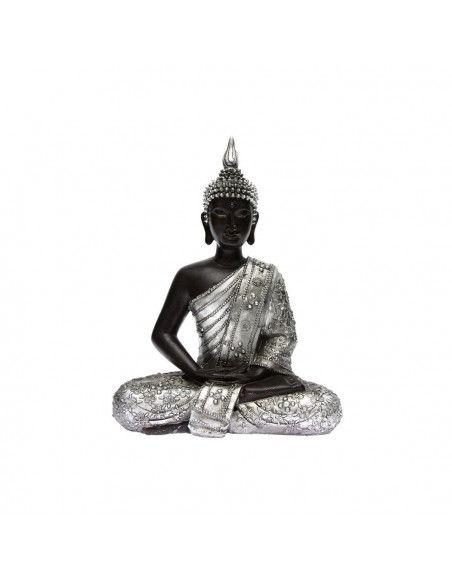 Statuette de bouddha assis en lotus - Hauteur 28 cm - Décoration d\'intérieur zen