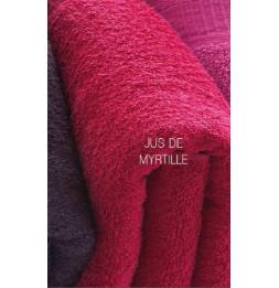 Drap de douche - Maxi serviette de toilette 90 x 150 cm - Jus de myrtille