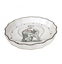 Moule à tarte - Chabada - 28 x 4 cm - Céramique