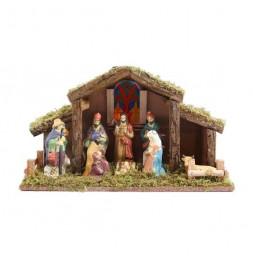 Crèche de Noël - 39 x 22 cm