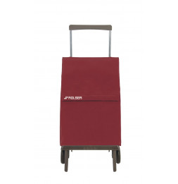 Chariot pliable Plegamatic MF - Rolser - 37 x 19,5 x 59 cm - Microfibres - Rouge