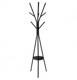 Porte manteau arbre - H 180 cm - Noir