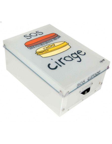 Boîte à cirage - SOS cirage - Incidence