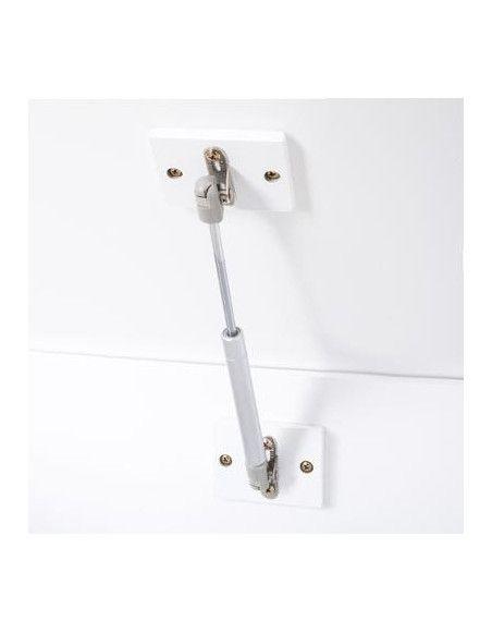 Coffre de rangement pour enfants - 58 x 48 x 38 cm - Bois - Blanc