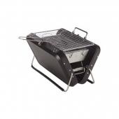 Barbecue de voyage - 30 x 21 x 17,5 cm - Inox - Gris