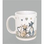 Mug Kidcat - H 9,5 cm - Porcelaine