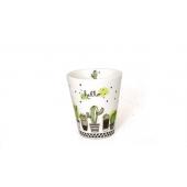 Tasse cactus - 125 ml - Porcelaine