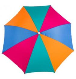 Parasol de plage rond  - Porto - , D180 cm - Modèle aléatoire