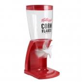 Distributeur de céréales - 15,8 x 20,5 x 40,2 cm - Plastique - Rouge