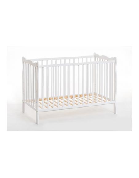 Lit bébé en bois - Ala - L 124 cm x P 71 cm x H 82 cm