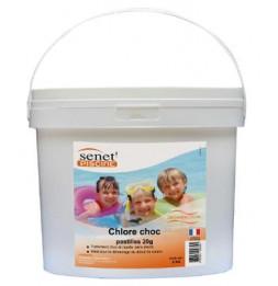 Chlore choc désinfectant