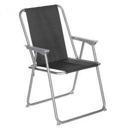 Chaise pliante - Grecia - 53 x 56 x 75 cm - Noir
