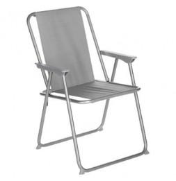 Chaise pliante - Grecia - 53 x 56 x 75 cm - Gris