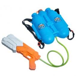 Pistolet à eau avec réservoir sac à dos - Plastique