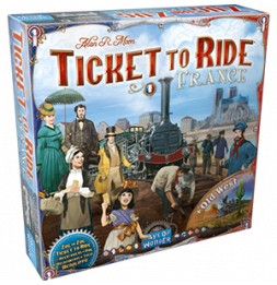 Aventuriers du Rail - France & Old West - Extension - Jeu de société
