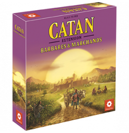 Catan - Barbares et marchands - Extension - Jeu de société