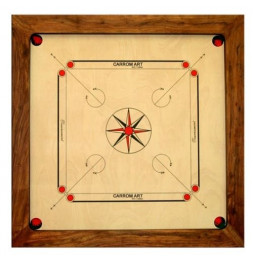 Carrom Champion - 88 x 88 cm - Jeu de billard