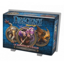 Descent - Le Serment de l'Exilée - 2e édition