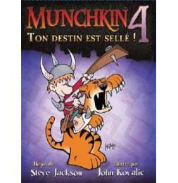 Munchkin 4 - Ton Destin est Sellé - Jeu de société