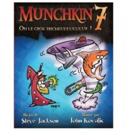 Munchkin 7 - Oh le Gros Tricheur - Jeu de société