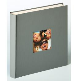 Album photo à feuillets cristal Fun - 100 pages - L 30 x l 30 cm - Taupe