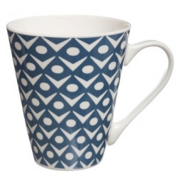Mug conique - Faience - Bleu