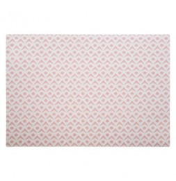 Set de table double face - 42 x 29 cm - Rose