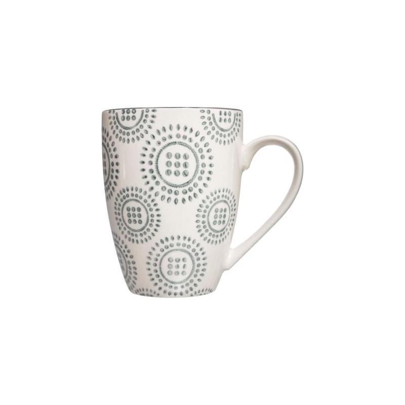 Mug-Camila-34-cL-Vert-et-blanc miniature 3