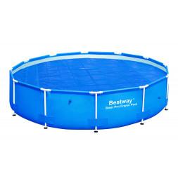 Bâche solaire - 356 cm - Bleu