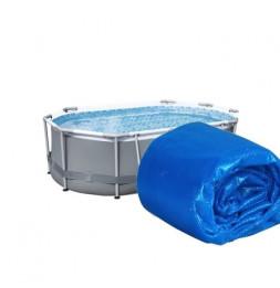 Bâche solaire - 404 x 230 cm - Bleu